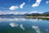Воды Липтовской Мары летом