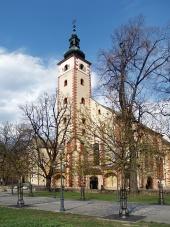 Церковь Успения в городе Банска-Бистрица