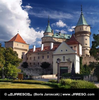 Inträde till slottet Bojnice