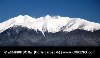 Peak of Rohace berg