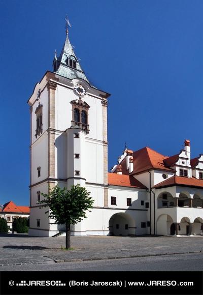 Torn av gamla rådhuset i Levoca