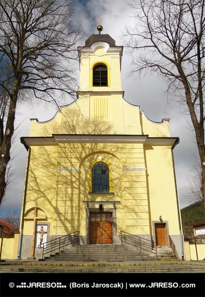 Church of Holy Cross i Lucky, Slovakien