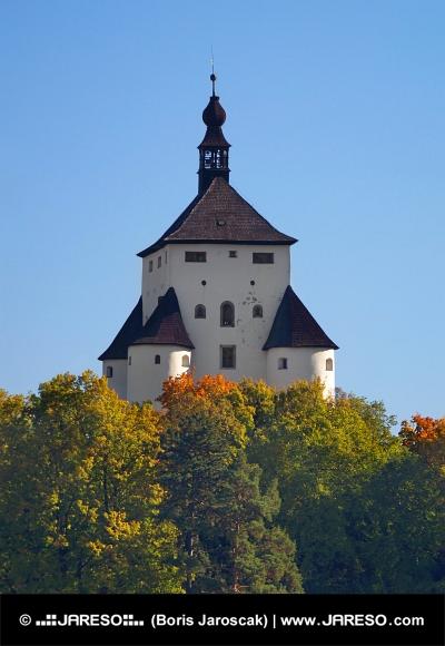 New Castle i Banska Stiavnica, Slovakien
