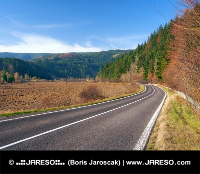 Vägen till Podbiel, Slovakien