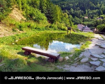 Gruv vattendrag landmärke, Spania Dolina