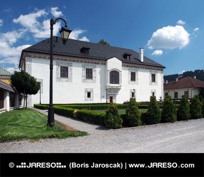 Bröllop Palace i Bytca, Slovakien