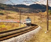 Järnvägen och t?g