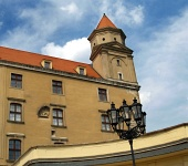 Tower of Bratislava slott, Slovakien