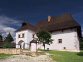 Sällsynta herrgård i Pribylina, Slovakien