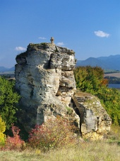Stenkors monument nära Bešeňová, Slovakien