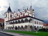 Levoca gamla r?dhuset, Slovakien