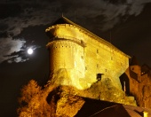 Orava Castle - P? natten