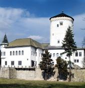 Slottet Budatin i Zilina, Slovakien