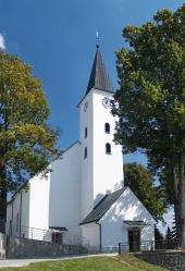 Church of St Simon och Jude i Namestovo