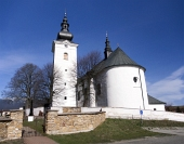 Church of St George i Bobrovec, Slovakien