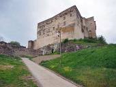 Palace of Trencin slott, Slovakien