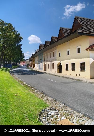 Cestni in meščanskih hiš v vasi Spiš sobota