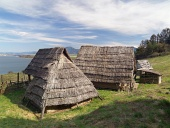 Celtic hiše, Havránok Skansen, Slovaška