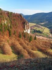 Outlook iz Ťupa Skala, na Slovaškem