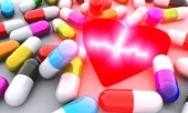 Pills, heart and ECG