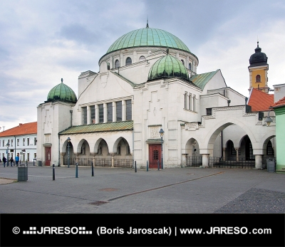 The Trencin Synagogue, Trencin town, Slovakia