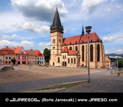 St. Egidius Basilica, Bardejov, Slovakia