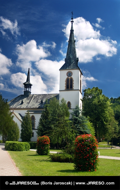 Church in Dolny Kubin, Slovakia