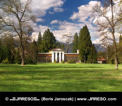 Arboretum at Turcianska Stiavnicka, Slovakia