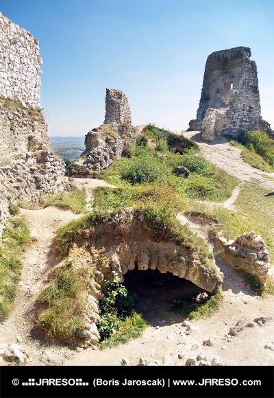 Catacombs of the Castle of Cachtice