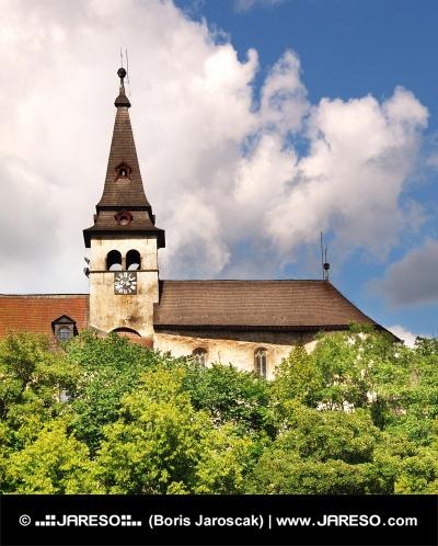 Clock tower of Orava Castle, Slovakia