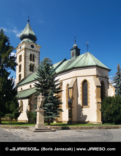 Church in Liptovsky Mikulas, Slovakia