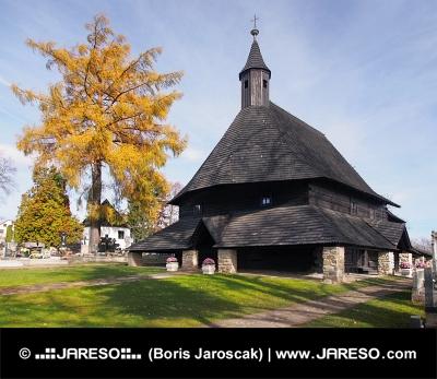 Church in Tvrdosin belonging to the UNESCO list