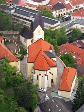 Roman Catholic Church in Trencin, Slovakia