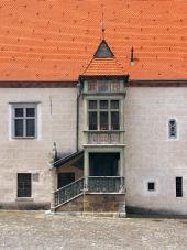 Bay window (Arkier), Bardejov, Slovakia