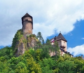 Towers of the Orava Castle, Slovakia