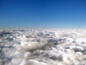A view above the clouds