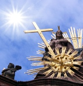 The sun and the cross