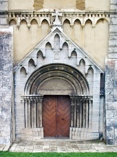 Gate of Cathedral in Spisska Kapitula