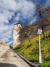 Clock tower of The Castle of Trencin