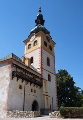 Tower of town castle in Banska Bystrica