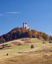 Calvary near the town of Banska Stiavnica, Slovakia