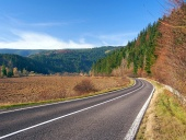 Road to Podbiel, Slovakia