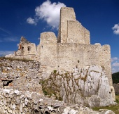 The Castle of Beckov, Slovakia