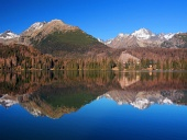 High Tatras reflected in Strbske Pleso
