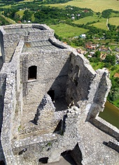 Tower of Strecno Castle, Slovakia